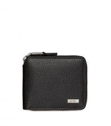 Calvin Klein Black Compact Id Wallet