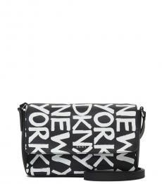 DKNY Black Brayden Small Crossbody Bag