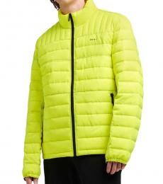 DKNY Yellow Stone Packable Quilted Jacket