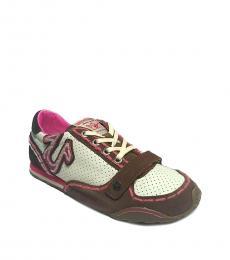 Brown Pink Shane Sneakers