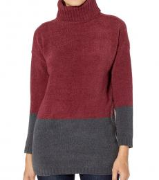 Cherry Turtle Neck Pullover Sweater
