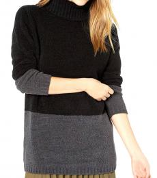 Black Turtle Neck Pullover Sweater