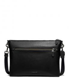 Coach Black Graham Large Messenger Bag