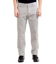 Versace Collection Light Grey Casual Pants