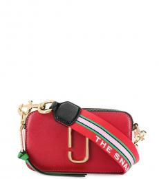 Marc Jacobs Red Snapshot Small Crossbody