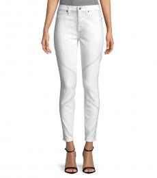 7 For All Mankind Clean White High Waisted Jeans