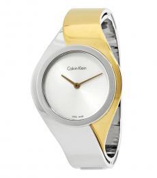 Calvin Klein Silver Radiant Gleamy Watch