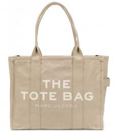 Marc Jacobs Beige The Traveler Large Tote
