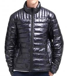 DKNY Black Packable Quilted Jacket