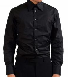 Versace Collection Black City Dress Shirt