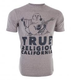 True Religion Grey California Buddha T-Shirt