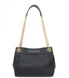 Michael Kors Black Jet Set Chain Large Shoulder Bag