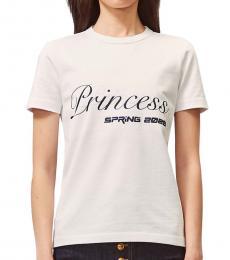 Tory Burch White Graphic T-Shirt