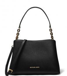 Michael Kors Black Sofia Large Shoulder Bag