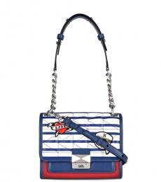 Multicolor Classic Small Shoulder Bag