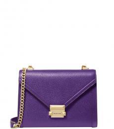 Ultraviolet Whitney Medium Shoulder Bag