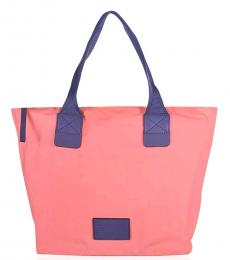 Marc by Marc Jacobs Light Coral Arigato Large Tote