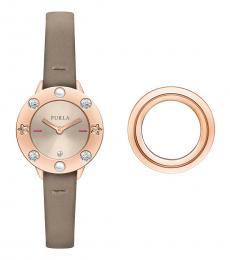 Furla Ivory Club Classic Watch