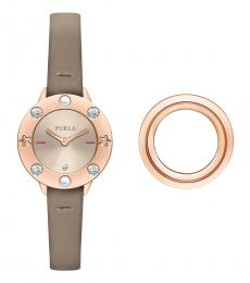Furla Ivory Club Classic Watch