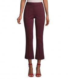 Cherry Crop Flare Pants