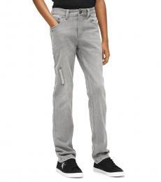 Calvin Klein Boys Greystone Skinny Jeans