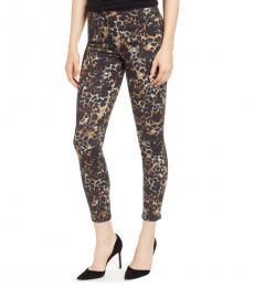 Camo Farrah High Waist Skinny Jeans
