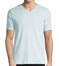 Light Blue Dandre V-Neck T-Shirt