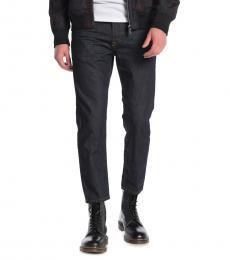Diesel Navy Blue Mharky Slim Skinny Jeans