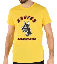 Diesel Yellow Diego Print T-Shirt