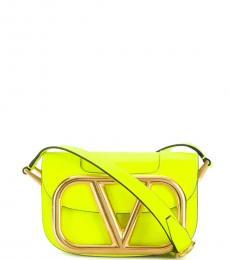 Valentino Garavani Yellow Supervee Mini Crossbody