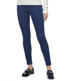 Calvin Klein Denim Stretch Pull-On Leggings