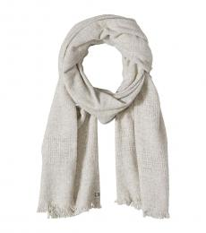 Light Grey Texture Scarf