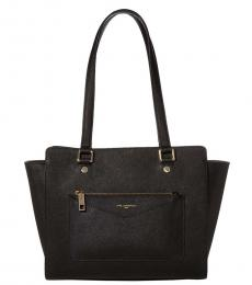 Black Vicky Medium Tote