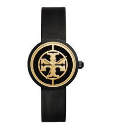 Black-Gold Reva Watch