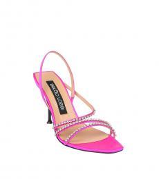 Pink Slingback Heels