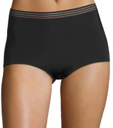 DKNY Black Medium Control Shapewear Briefs