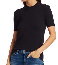 Rag And Bone Black Surplus Soft T-Shirt