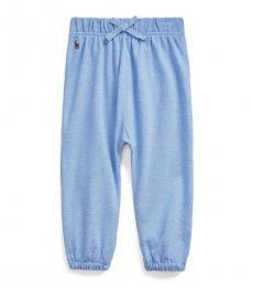 Ralph Lauren Baby Boys Harbor Island Blue Pull-On Pants