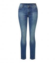 Versace Jeans Blue Logo Jeans