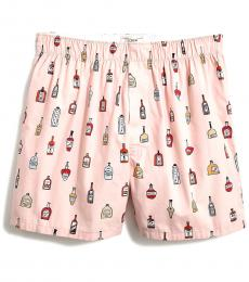 J.Crew Dusty Pink Woven Boxers