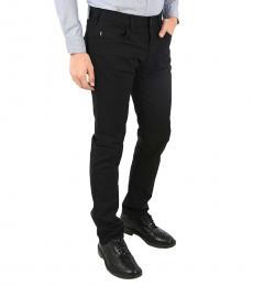 Armani Jeans Black Stretch Slim Fit Jeans