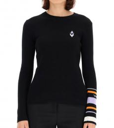 Valentino Garavani Black Crew Neck Sweater