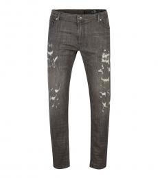 Diesel Grey Regular Fit Jeans