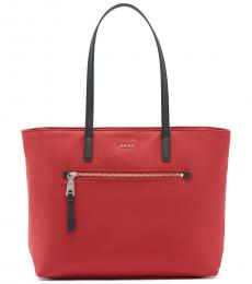Bright Red Gia Large Tote