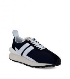Lanvin Blue Bumper Sneakers