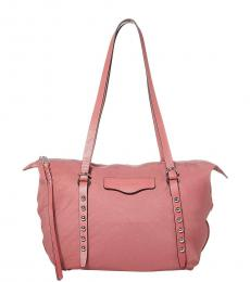 Rebecca Minkoff Pink Bowie Small Tote