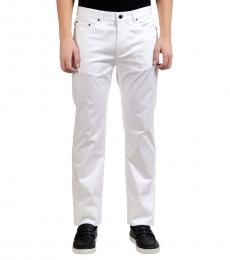 Versace Collection White Classic Jeans