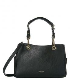 Black Sonoma Bubble Large Satchel