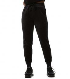 True Religion Black Velour Jogger