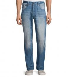 Denim Relaxed Slim-Fit Jeans